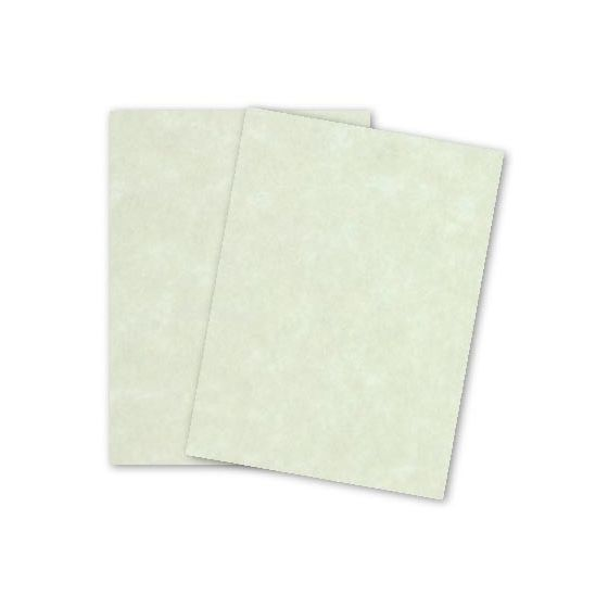 Parchtone NATURAL - 8.5 x 11 Parchment Card Stock - 80lb Cover - 200 PK
