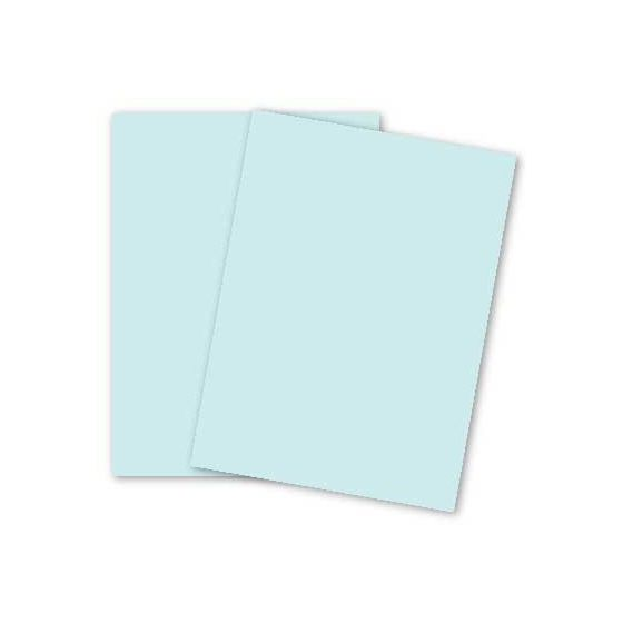 French Paper - POPTONE Sno Cone - 8.5X11 (65C/175gsm) Lightweight Card Stock Paper - 2500 PK
