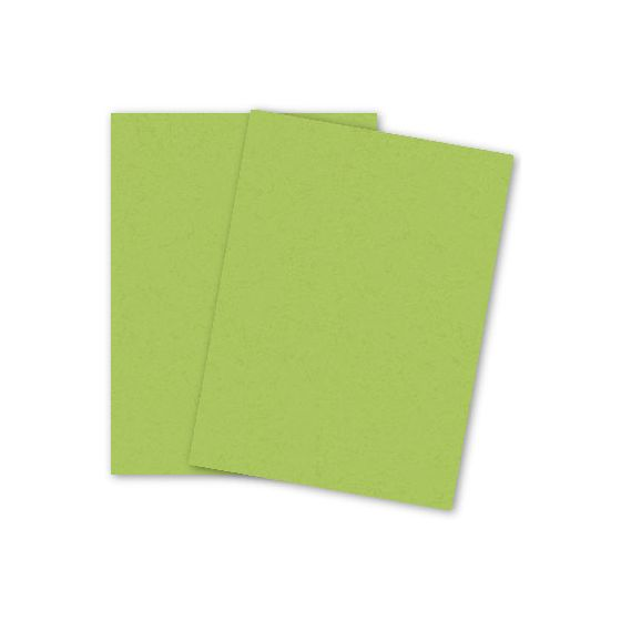 POPTONE Sour Apple - 8.5X11 (100C/270gsm) Card Stock Paper - 25 PK [DFS]