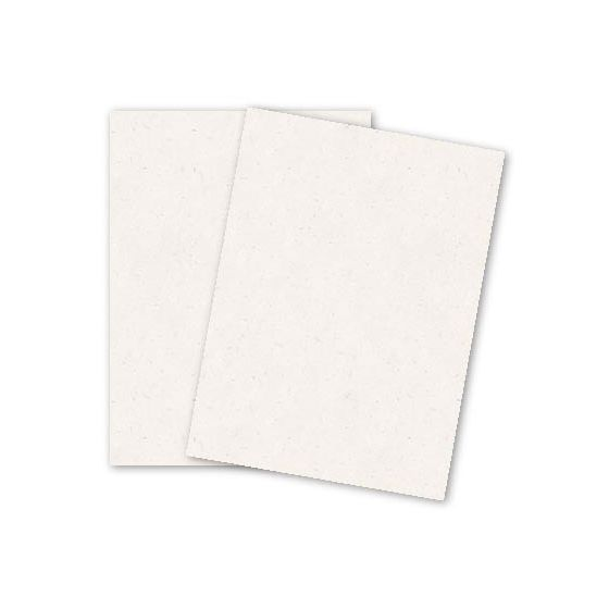 SPECKLETONE True White - 8.5X11 Card Stock Paper - 100lb Cover (270gsm) - 25 PK [DFS]