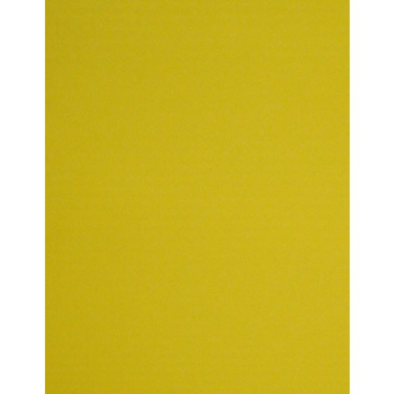 [Clearance] YELLOW - 8.5X11 10PT 82C/223gsm - Litho Sheen Card Stock Paper - 100 PK