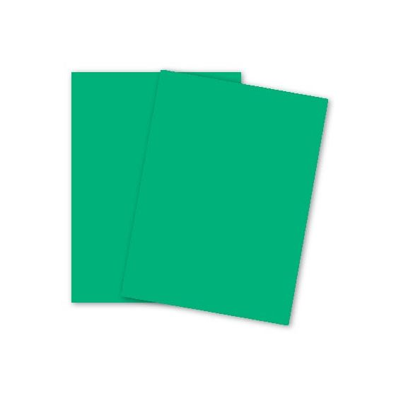 Mohawk BriteHue - MEADOW GREEN - 8.5 x 11 Card Stock Paper - 65lb Cover - 250 PK