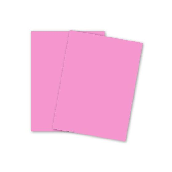 Mohawk BriteHue - ULTRA PINK - 8.5 x 11 Card Stock Paper - 65lb Cover - 2000 PK
