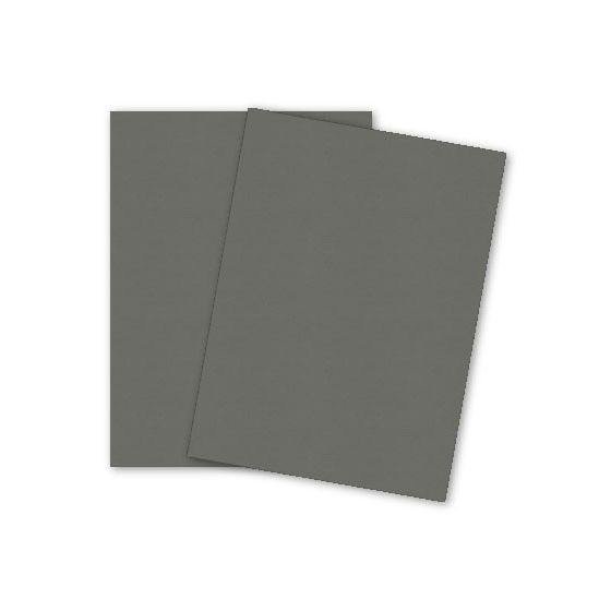 Mohawk Loop Antique Vellum - URBAN GRAY - 110lb Cover - 8.5 x 11 Card Stock Paper - 25 PK [DFS]