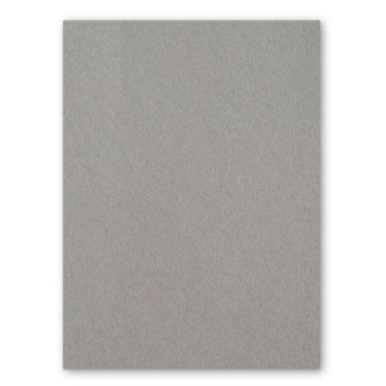 [Clearance] 100% Pure Cotton Letterpress Smoke Gray 111C/20Pt/300gsm 8.5X11 (216X279) - 25 PK