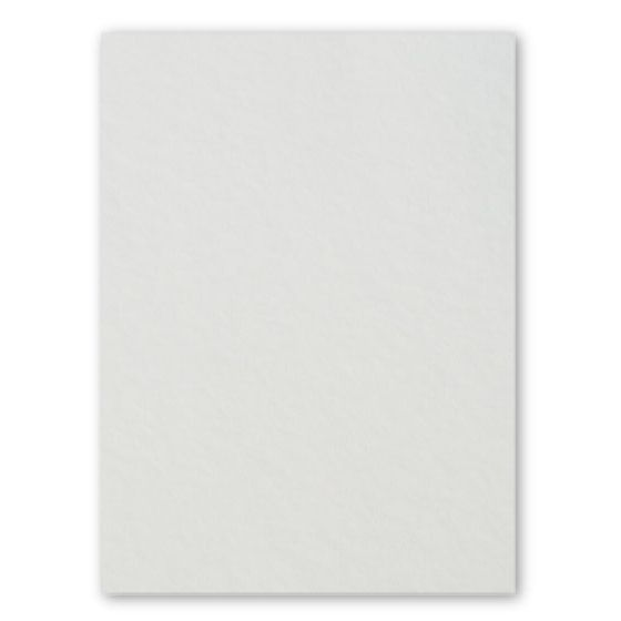 [Clearance] 100% Pure Cotton Letterpress Soft White 222C/40Pt/600gsm 8.5X11 (216X279) - 100 PK