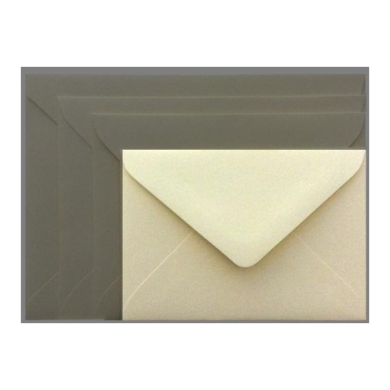 Mohawk Superfine SOFTWHITE Eggshell - 4 BAR Envelopes EURO FLAP (80T 3-5/8X5-1/8) - 250 PK [DFS-48]