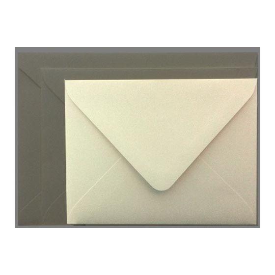 Mohawk Superfine SOFTWHITE Eggshell - A2 Envelopes EURO FLAP (80T 4-3/8X5-3/4) - 250 PK