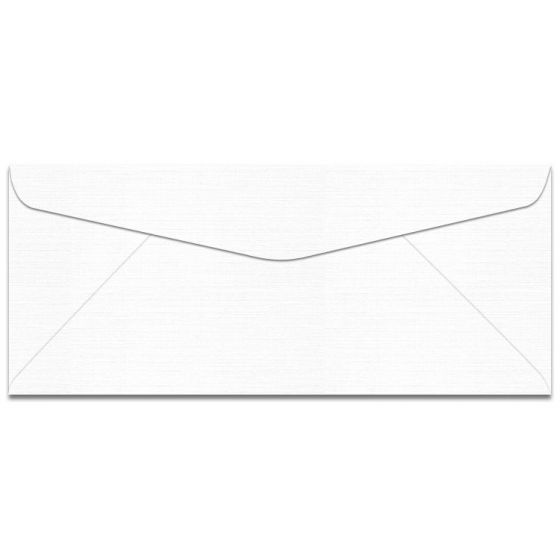 Mohawk VIA Linen - PURE WHITE - No. 10 Envelopes - 2500 PK [DFS-48]