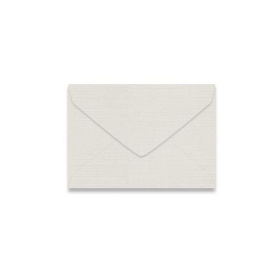 Mohawk VIA Linen - LIGHT GRAY - 4 BAR Envelopes - 250 PK