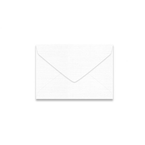 Mohawk VIA Linen - PURE WHITE - 4 BAR Envelopes - 250 PK
