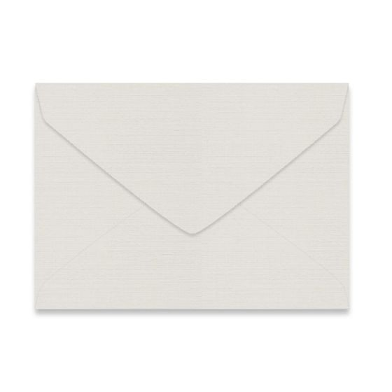 Mohawk VIA Linen - LIGHT GRAY - 7 BAR/Lee Envelopes - 1000 PK