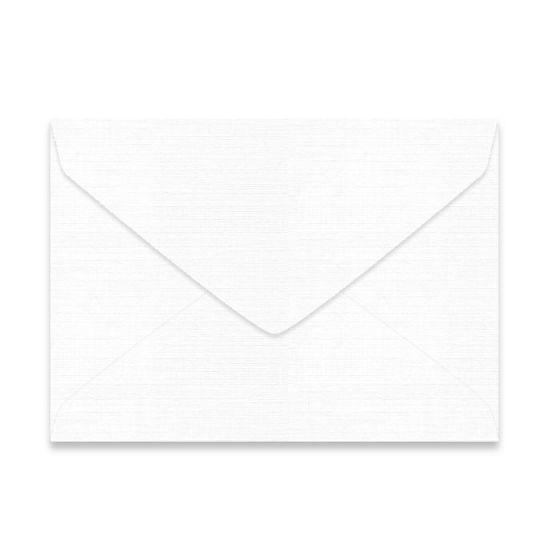 Mohawk VIA Linen - PURE WHITE - 7 BAR/Lee Envelopes - 250 PK [DFS-48]