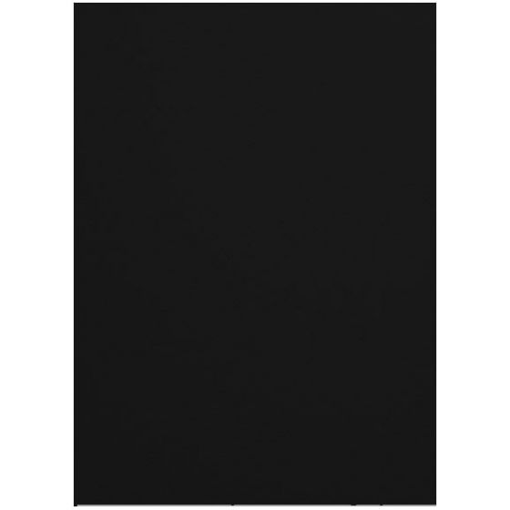 Mohawk VIA Felt - BLACK - 80lb Cover (216gsm) - 26X40 Card Stock Paper