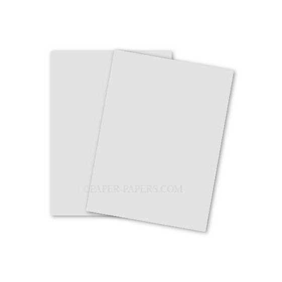 Mohawk Superfine WHITE Eggshell - 8.5X11 (216X279) Card Stock Paper - 80lb Cover (216gsm) - 250 PK