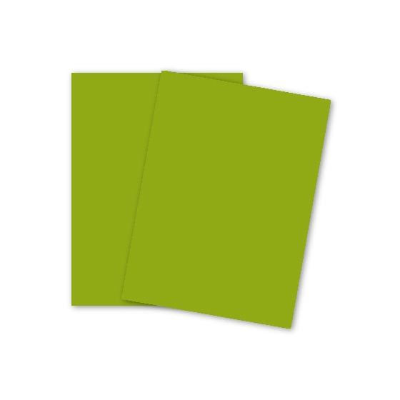 Mohawk VIA Vellum - LEAF GREEN - 80lb Cover - 26 x 40 Card Stock Paper - 500 PK