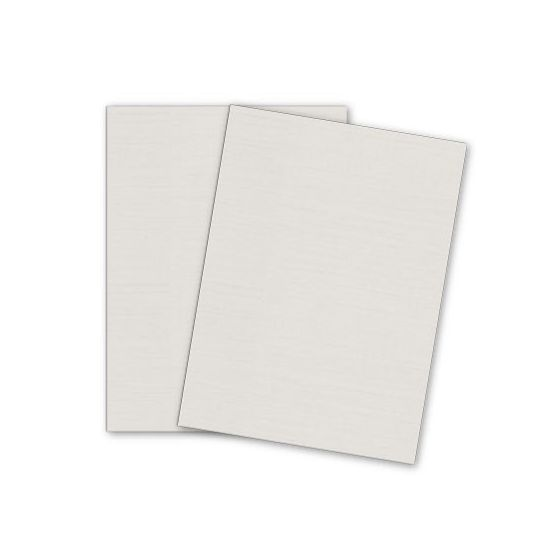 Mohawk VIA Linen - LIGHT GRAY - 8.5 x 11 Card Stock - 80lb Cover - 250 PK