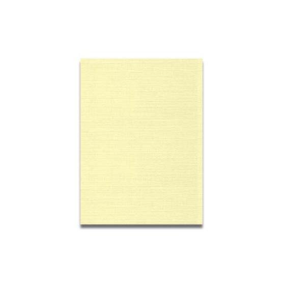 Neenah CLASSIC LINEN 8.5 x 11 Card Stock - Baronial Ivory - 80lb Cover - 250 PK [DFS-48]