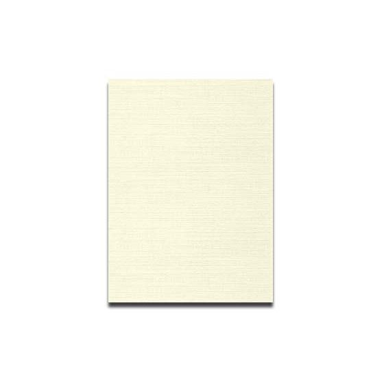 Neenah CLASSIC LINEN 12 x 18 Card Stock - Classic Natural White - 80lb Cover - 250 PK [DFS-48]