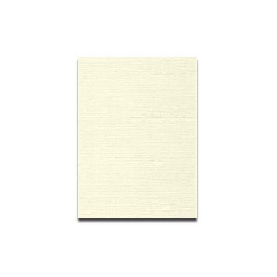 Neenah CLASSIC LINEN 12 x 18 Card Stock - Classic Natural White - 100lb Cover - 250 PK [DFS-48]