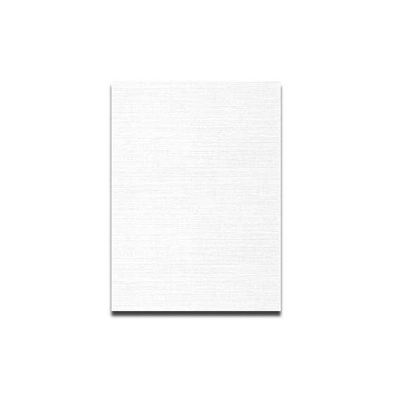 Neenah CLASSIC LINEN 12 x 18 Card Stock - Solar White - 80lb Cover - 250 PK