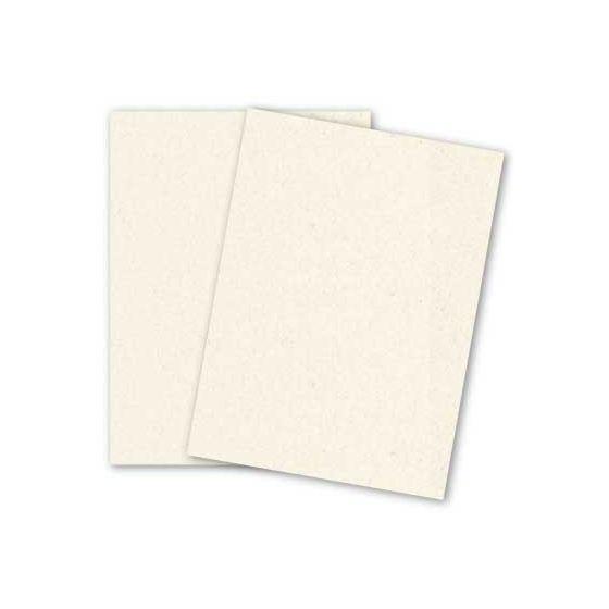 Royal Sundance Fiber - 8.5 x 11 Cardstock Paper - NATURAL - 80lb Cover - 250 PK [DFS-48]