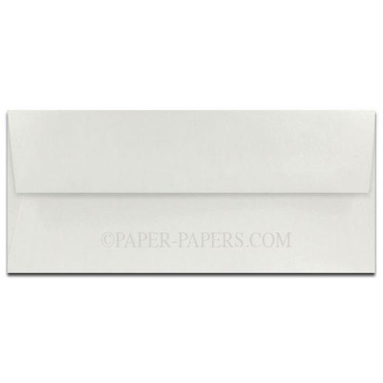 100% Cotton No. 10 Envelopes (4.125-x-9.5) - Savoy Natural White - 25 PK [DFS]