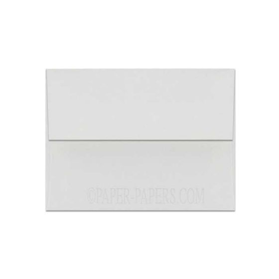 100% Cotton A2 Envelopes (4.375-x-5.75) - Savoy Bright White - 25 PK [DFS]