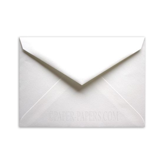100% Cotton 7-BAR/Lee OUTER Envelopes (5.5-x-7.5) - Savoy Brilliant White - 25 PK [DFS]