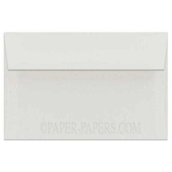 100% Cotton A9 Envelopes (5.75-x-8.75) - Savoy Natural White - 1000 PK