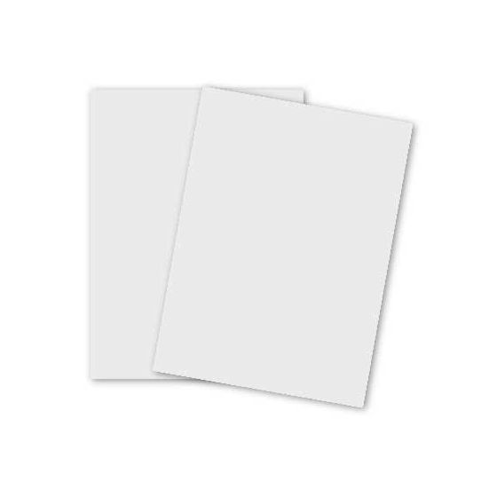 100% Cotton Card Stock - Savoy Bright White - 8.5X11 (216X279) - 184lb DT Cover (500gsm) - 250 PK