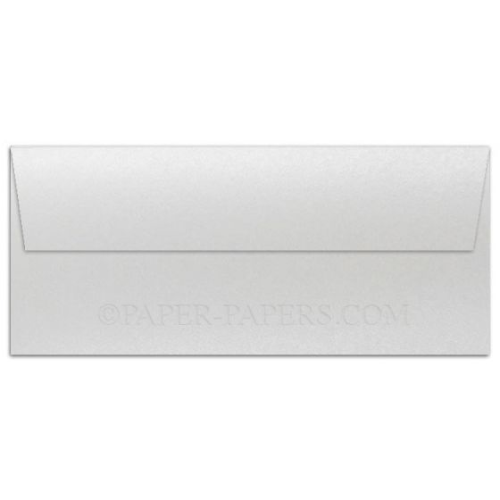 Shine PEARL White - Shimmer Metallic - No. 10 Envelopes (4.125-x-9.5) - 250 PK [DFS-48]