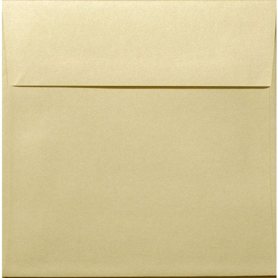 Shine (Light) GOLD - Shimmer Metallic - 6-1/2 Square Envelopes (6.5-x-6.5) - 25 PK