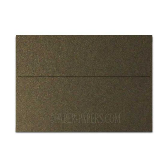 Shine BRONZE - Shimmer Metallic - A7 Envelopes (5.25-x-7.25) - 25 PK [DFS]