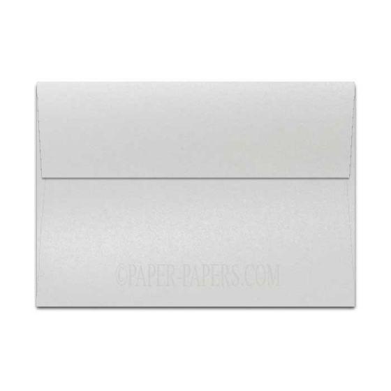 Shine PEARL White - Shimmer Metallic - A9 Envelopes (5.75-x-8.75) - 250 PK [DFS-48]
