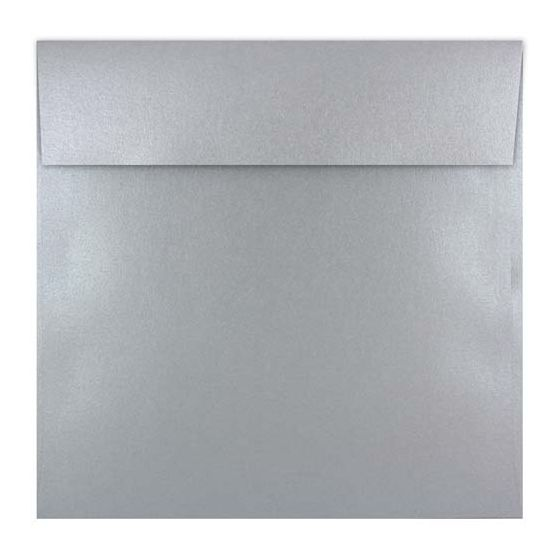 [Clearance] Shine Shimmer Silver (7x7) - 7 in Square ENVELOPES (Flap 2-SC) - 250 PK