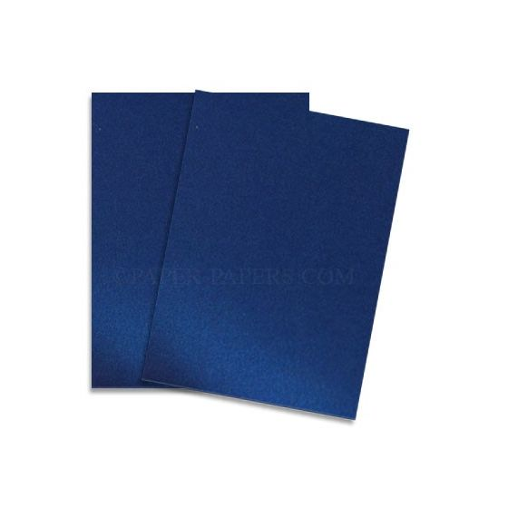 Shine BLUE SATIN - Shimmer Metallic Paper - 8.5 x 11 - 80lb Text (118gsm) - 200 PK