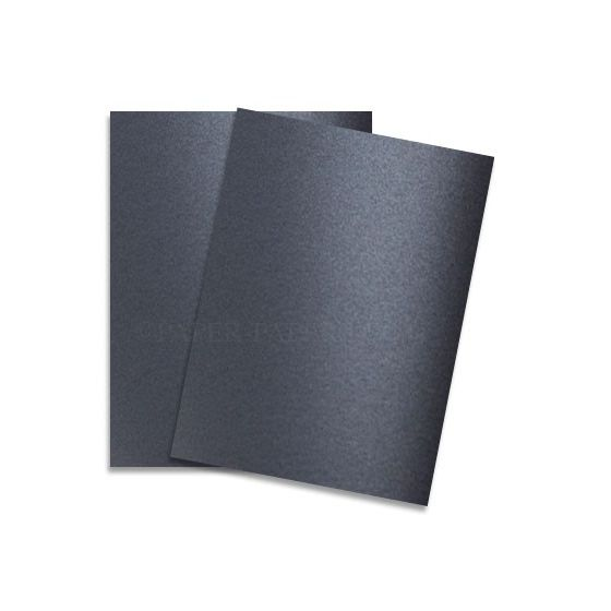 Shine IRON SATIN - Shimmer Metallic Card Stock Paper - 8.5 x 11 - 92lb Cover (249gsm) - 25 PK [DFS]