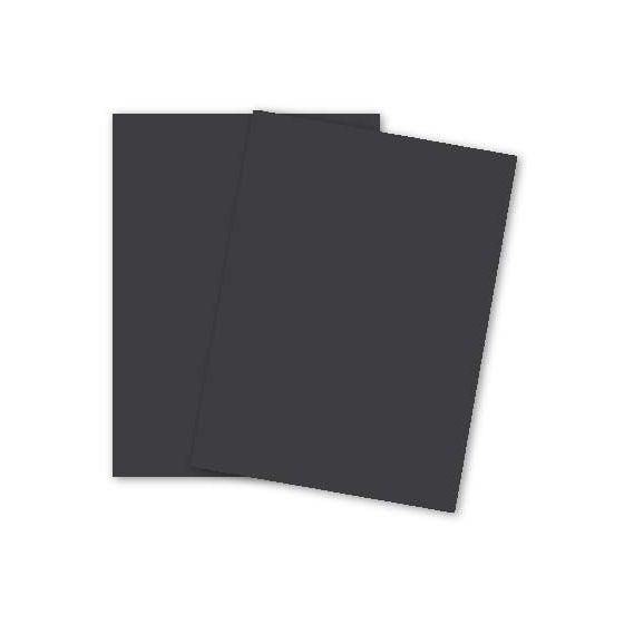 Plike (Plastic-Like) Paper - 8.5 x 11 - GRAPHITE - 122LB COVER - 250 PK
