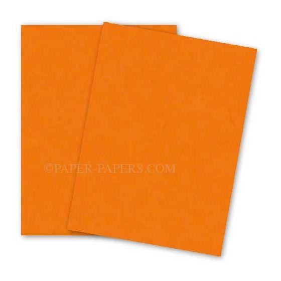 Astrobrights Paper (23 x 35) - 65lb Cover - Cosmic Orange