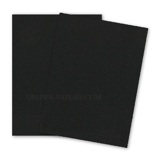 Astrobrights 8.5X11 Card Stock Paper - Eclipse Black - 80lb Cover - 2000 PK