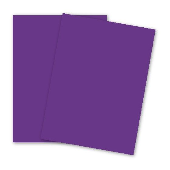 Astrobrights Paper (23 x 35) - 65lb Cover - Gravity Grape