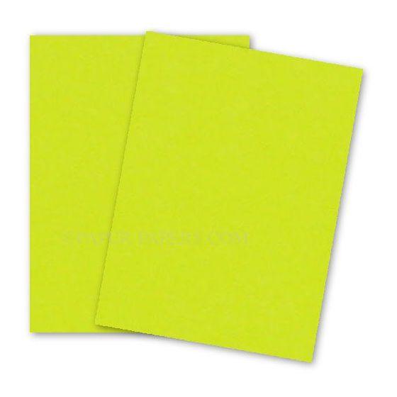 Astrobrights Paper (23 x 35) - 65lb Cover - Lift-Off Lemon