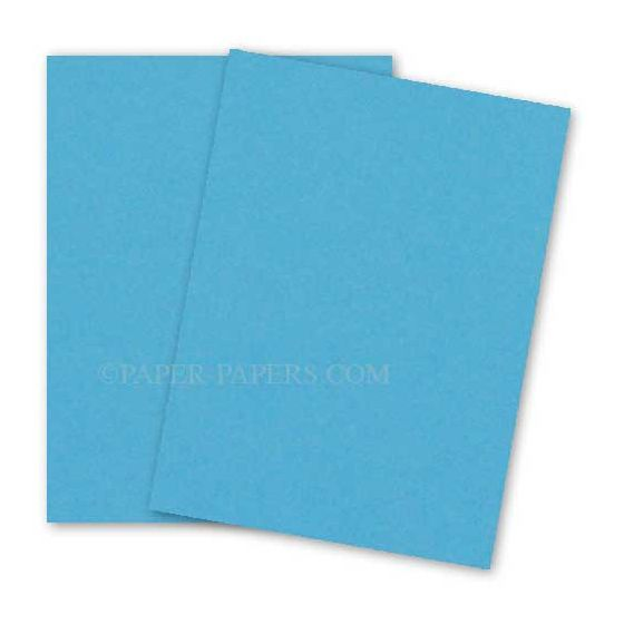 Astrobrights 8.5X11 Card Stock Paper - LUNAR BLUE - 65lb Cover - 250 PK [DFS-48]