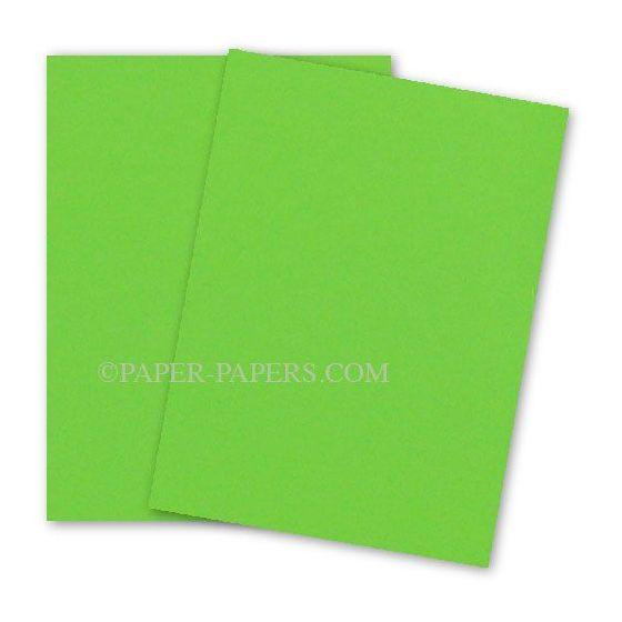 Astrobrights Paper (23 x 35) - 24/60lb Text - Martian Green