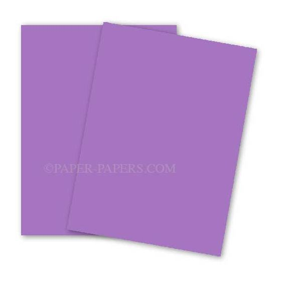 Astrobrights 8.5X11 Card Stock Paper - PLANETARY PURPLE - 65lb Cover - 250 PK