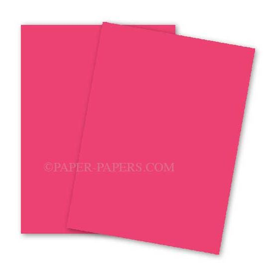 Astrobrights 8.5X11 Card Stock Paper - PLASMA PINK - 65lb Cover - 2000 PK