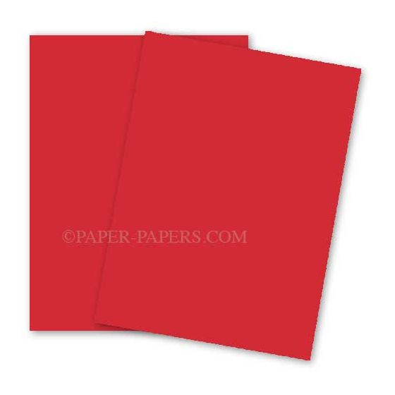 Astrobrights 8.5X11 Card Stock Paper - RE-ENTRY RED - 65lb Cover - 250 PK [DFS-48]