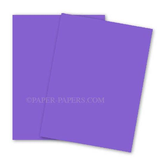 Astrobrights 8.5X11 Card Stock Paper - VENUS VIOLET - 65lb Cover - 2000 PK