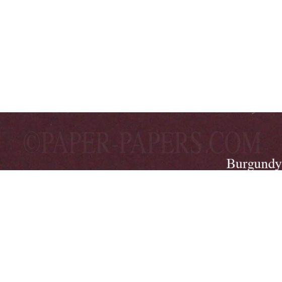 Royal Sundance Linen - BURGUNDY - 23 x 35 Cardstock Paper - 80LB Cover